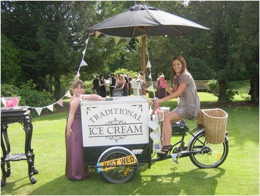 Ice cream stall! #weddingideas #quirkywedding #funwedding #wedding #icecream
