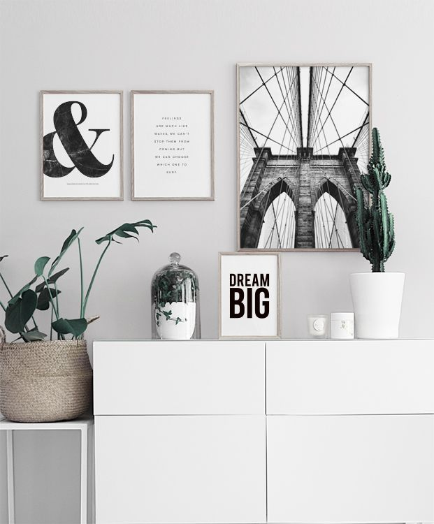 & Black Marble, Poster