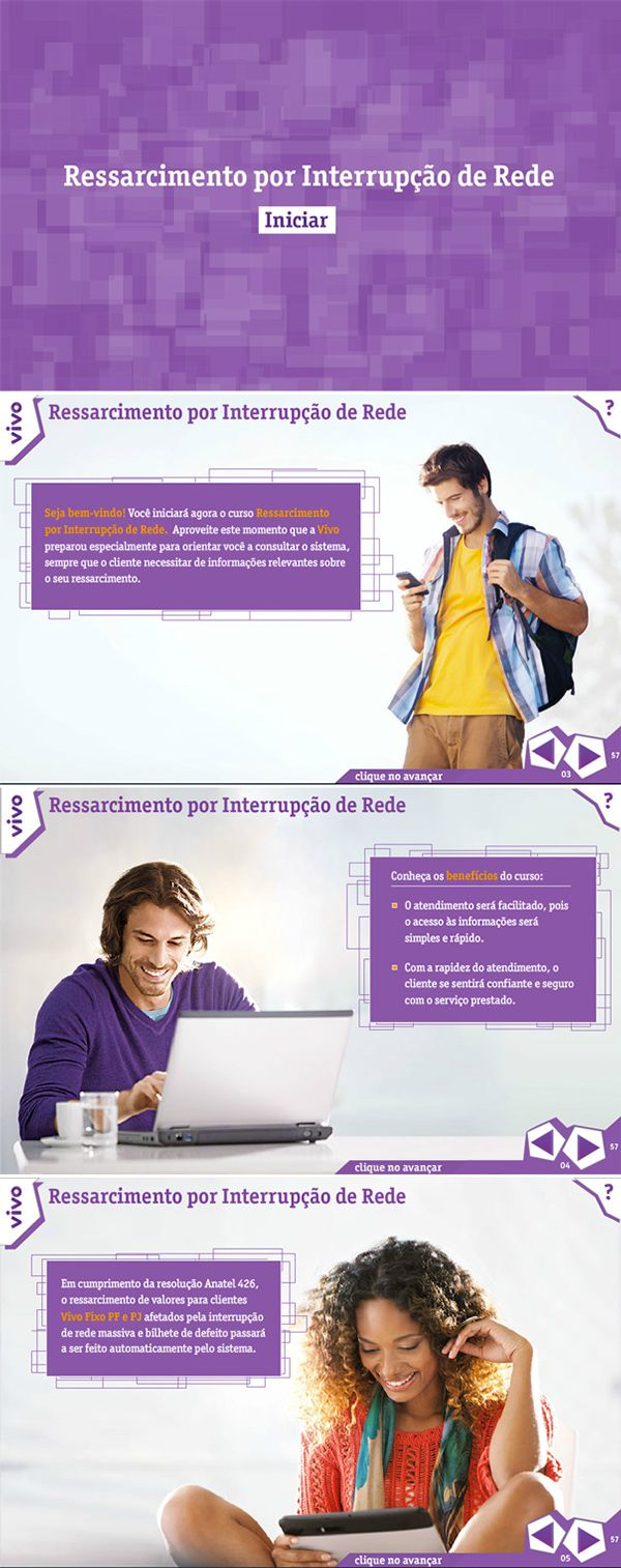 E-learning | Vivo Ressarcimento on Behance