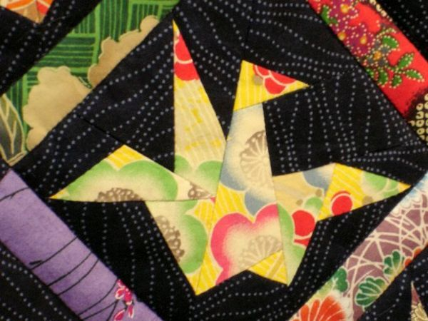 Origami Crane - from Margaret Rolfe's PEACE QUILT