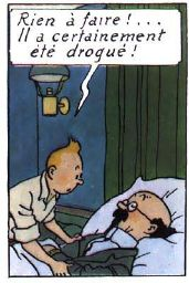 La vie de Tintin   Mais trop pas!! Il s'est défoncé tout seul le...