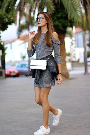 Get this look: http://lb.nu/look/8535059  More looks by Marianela Yanes: http://lb.nu/marilynscloset  Items in this look:  Shein Dress, Adidas Sneakers, Fendi Sunglasses   #casual #minimal #sporty