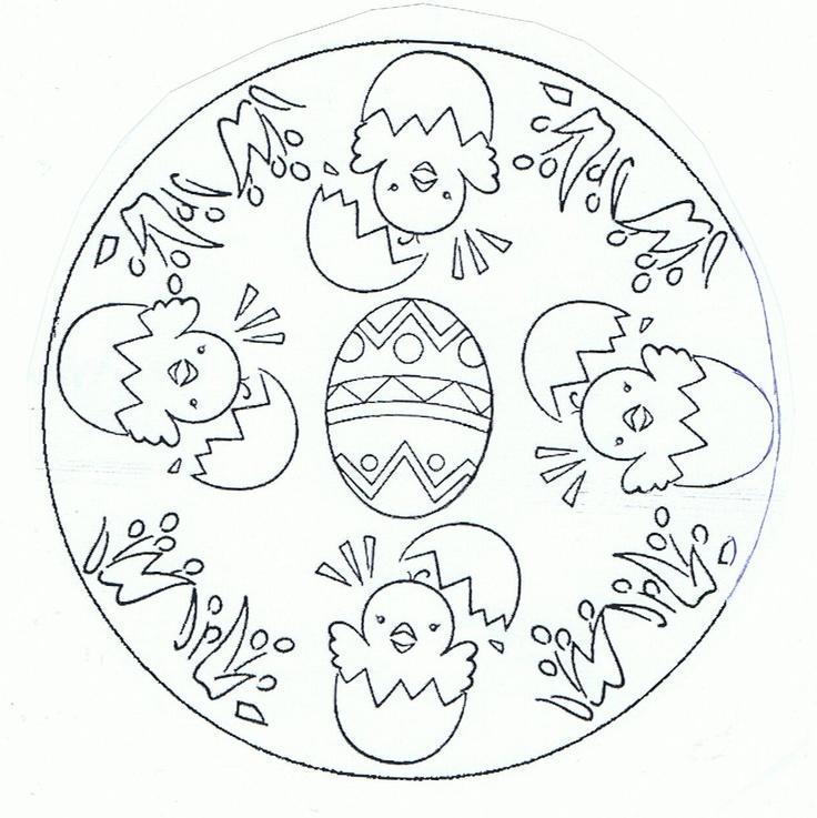 mandala poussins