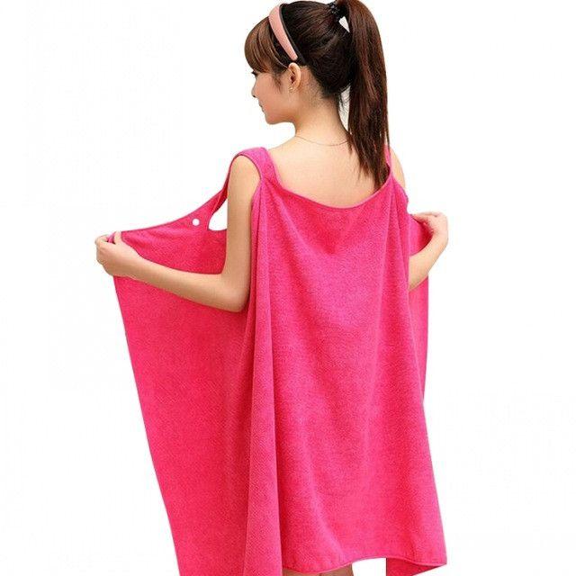 Ladies Super-Absorbent Soft Microfiber Bath/Beach Towel