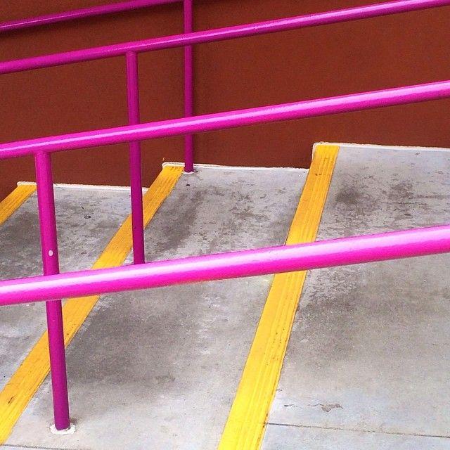 #yellow #pink  photo by happymundane on Instagram