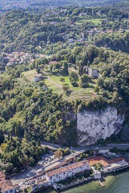 La Rocca di #Arona in tutta la sua maestosità!  ( #Novara #Piedmont #Italy )