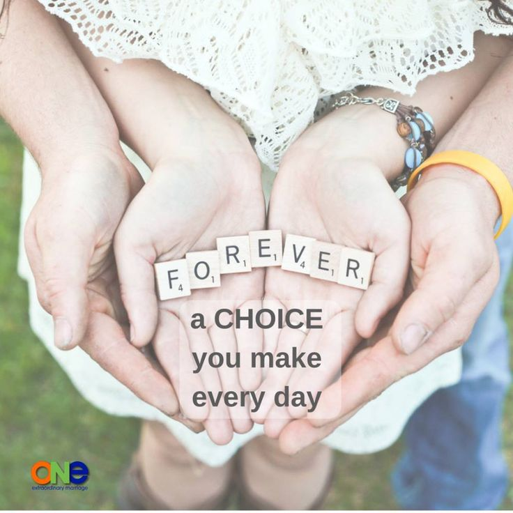 Forever- A choice you make everyday.