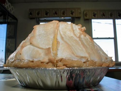 Ed & Kay's - Benton, AR Mile-high Coconut Meringue Pie