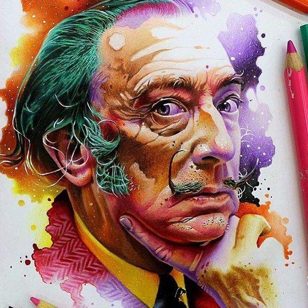 Amazing! Done by @art_vareta ! #artacademy by art.academy