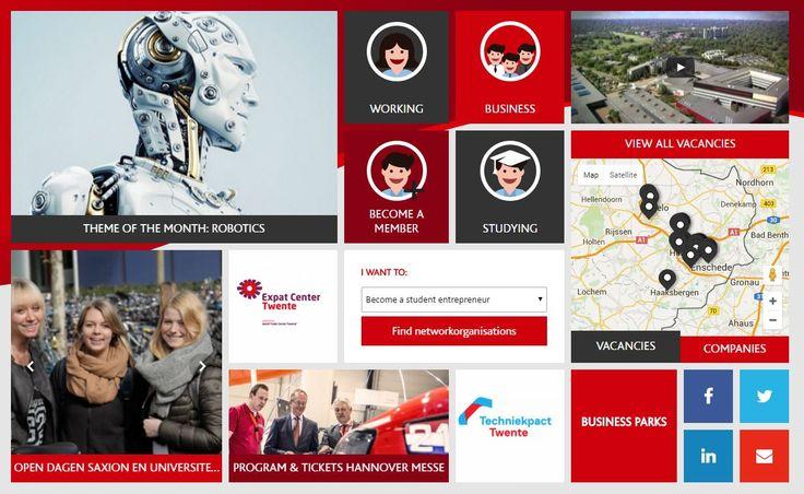 Twente is an entrepreneurial high-tech region. See available jobs! http://9nl.es/twente-careers-togetherabroad