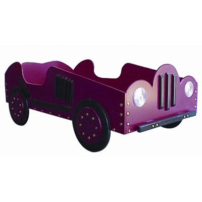 FREE SHIPPING! Shop Wayfair for Just Kids Stuff Old Style- Race Car Toddler Bed - Great Deals on all Furniture products with the best selection to choose from! ... other colors available