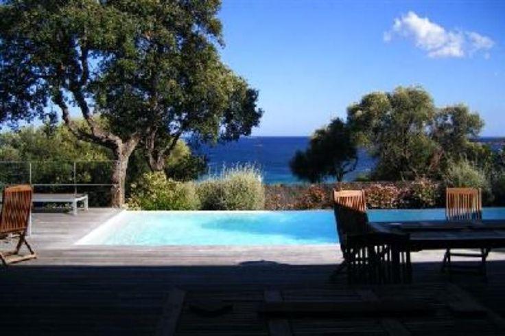 Abritel location pinarello Corse: villa d'architecte,vue mer et montagnes à 3 mn à pied de la plage