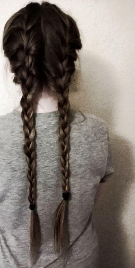 Boxer Braids ❤❤ bestfriend's hair is goals…