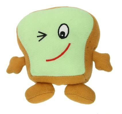 Check out this adorable plush squeaky toast! Perfect for smaller dogs; see if you can collect the whole family!  **Only ships toys to New Zealand at the moment**