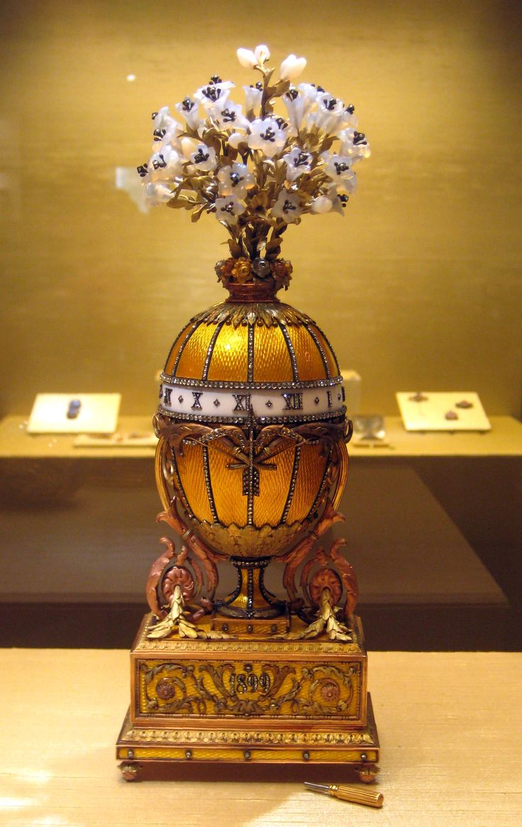 72 best faberge images on pinterest antique jewellery faberge the bouquet of lilies clock egg or the madonna lily egg is a jewelled negle Gallery