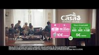 Nello spot in stile fiction di maggio, 3 Italia ci propone l'offerta Casa 3. Nel filmato ci troviamo a casa di Giuseppe Zeno e Lorena Cacciatore che spiegano ai loro ospiti i vantaggi dell'offerta.