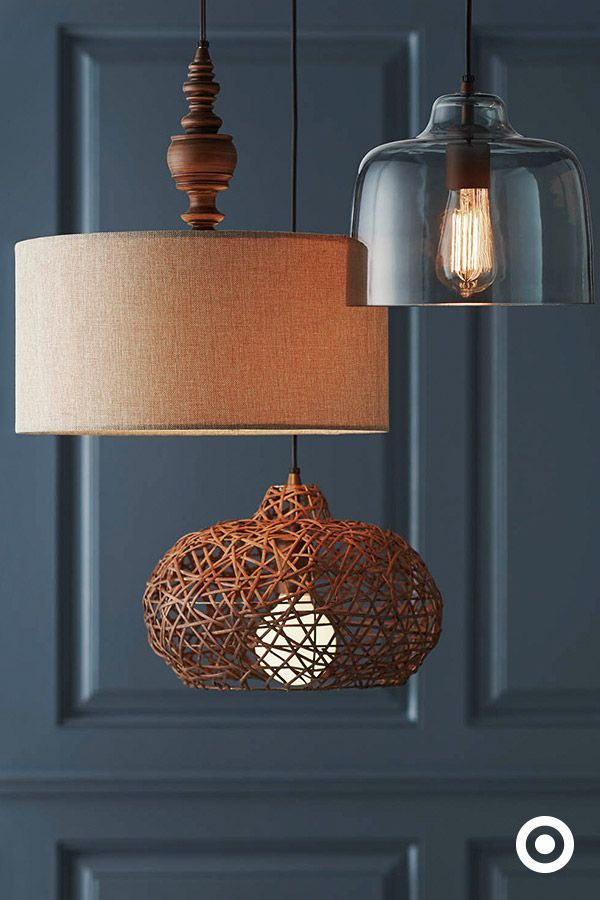Totally flip the switch on a room by adding easy-to-install overhead lighting. So many beautiful vintage-inspired styles found only at Target.com.