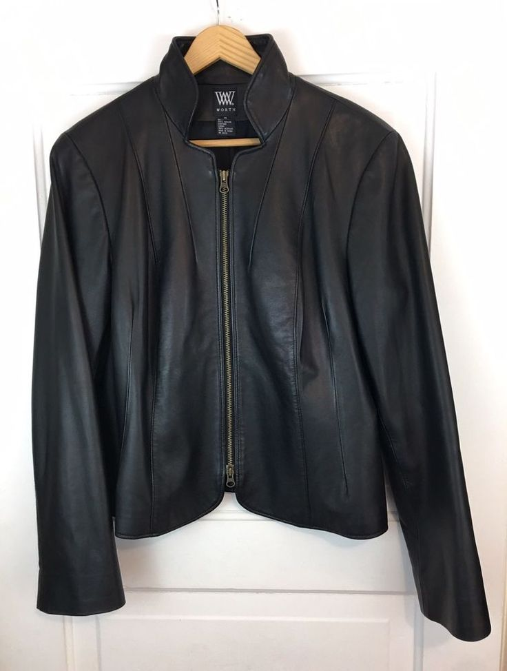 Black leather jacket size 18 – Novelties of modern fashion photo blog