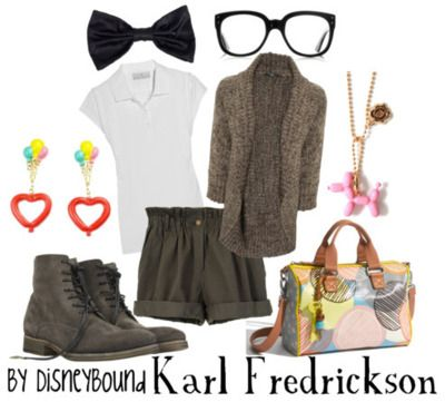 yes!Disneybound Fashion, Disney Outfit, Up Style, Disneybound Clothing, Disneybound Karl, Karl Fredrickson, Disneybound Style, Disney Bound, Disney Fashion