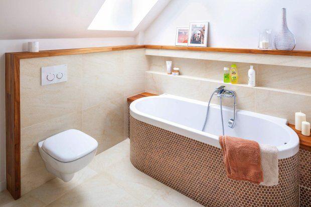 Zdjęcie numer 13 w galerii - 15 pomysłów na łazienkę z wanną