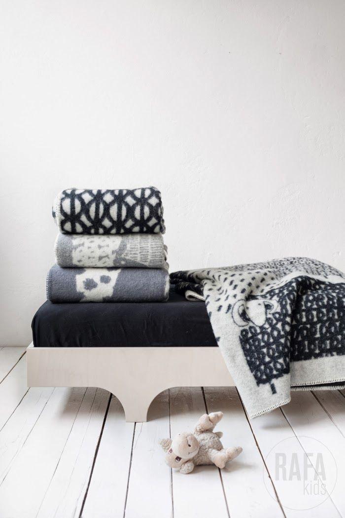 Scandinavian wool blankets