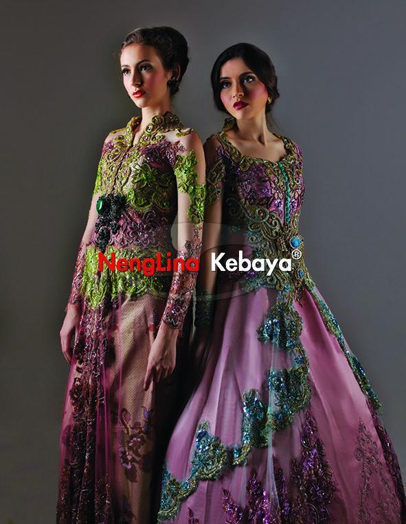 #kebaya #pengantin #NengLina  by #ArifSusanto Ho #gaun #jahit #pesanan #murah #eklusif #modern #nikah Kebaya warna hijau dusty perpaduan yang indah. kebaya biru turkis dusty yang elegan desain nenglina kebaya