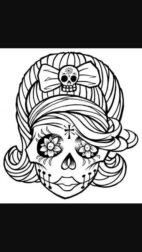 1000 Ideas About Sugar Skull Girl On Pinterest Sugar