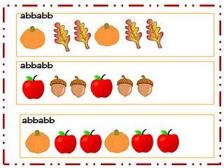 Fall Pattern: Fall Patterns, Math Patterns, Math Freebies, Teacher Touch, Preschool Math, Fall Math, Fall Activities, Gingerbread Patterns, Fall Theme