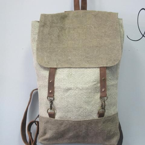 Organic Jute Backpack
