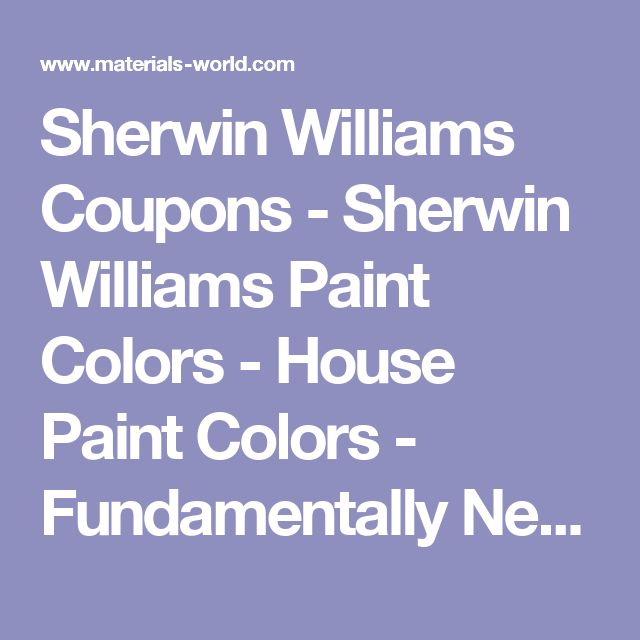 Bathroom Sherwin Williams Sale Sherwin Williams Coupon Sherwin Williams Exterior Paint Colors: Best 25+ Sherwin Williams Coupon Ideas On Pinterest