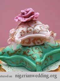 Nigerian Traditional Engagement Wedding Cake Ideas | Nigerian Wedding
