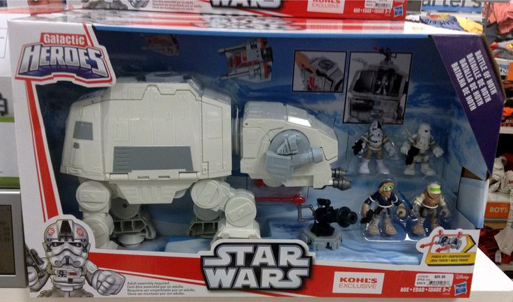 Hasbro - Star Wars Galactic Heroes Battle of Hoth AT-AT with figures