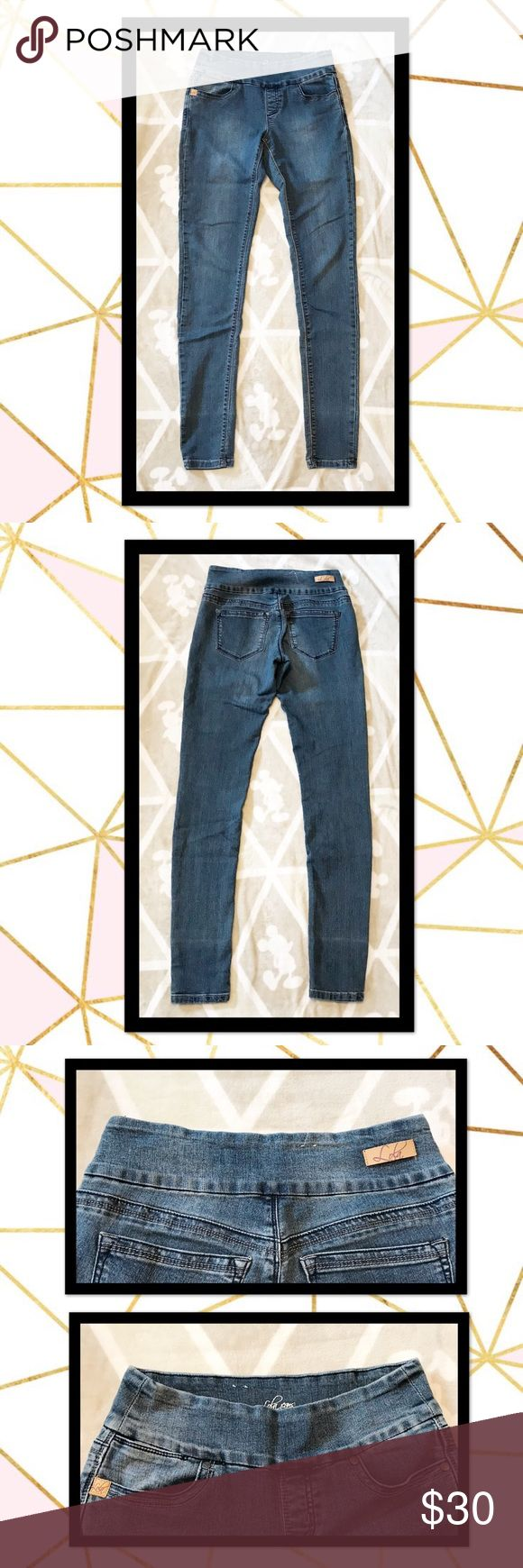 Lola jeans - Anna Skinny Jeans The Anna mid-rise pull-on skinny has an effortlessly perfect fit. Our comfy 4-way stretch fabric softly hugs your curves. You can wear them every day, and they still keep their shape.The pull-on waistband keeps you nice and flat in the front, with no buttons or belt-loops.  ⭐️ Size 2 ⭐️ Excellent used condition ⭐️ Pull On style ⭐️ 4-Way Stretch ⭐️ Faux fly and five-pocket styling ⭐️ Skinny leg jean with wide pull-on waist ⭐️ Tummy slimming front panel…