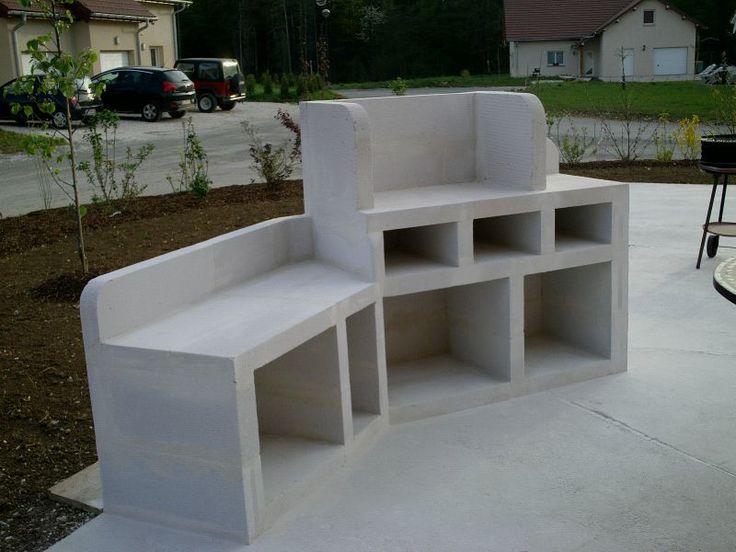 17 meilleures idées à propos de Béton Cellulaire sur Pinterest  Bloc beton c -> Bibliotheque En Siporex