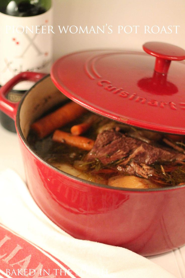 5.0 from 3 reviews Pioneer Woman's Perfect Pot Roast   Print This is a damn good roast... Cuisine: Comfort Food Ingredients Salt and freshly ground black pepper One 3 to 5-pound chuck roast 2 ...