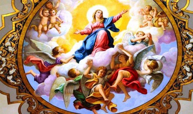 Augusztus 15-én Mária mennybevételét ünnepeljük
