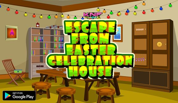 http://www.knfgame.com/knf-escape-easter-celebration-house/   Knf Escape From Easter Celebration House is the 163rd escape game from knfgame. The story of the game is You have been left alone inside your neighbor house after Easter celebration. To escape from the house you need to click on the objects around the house and use them to solve simple puzzles. Good luck and have fun playing knf escape games, free online and point and click escape games.
