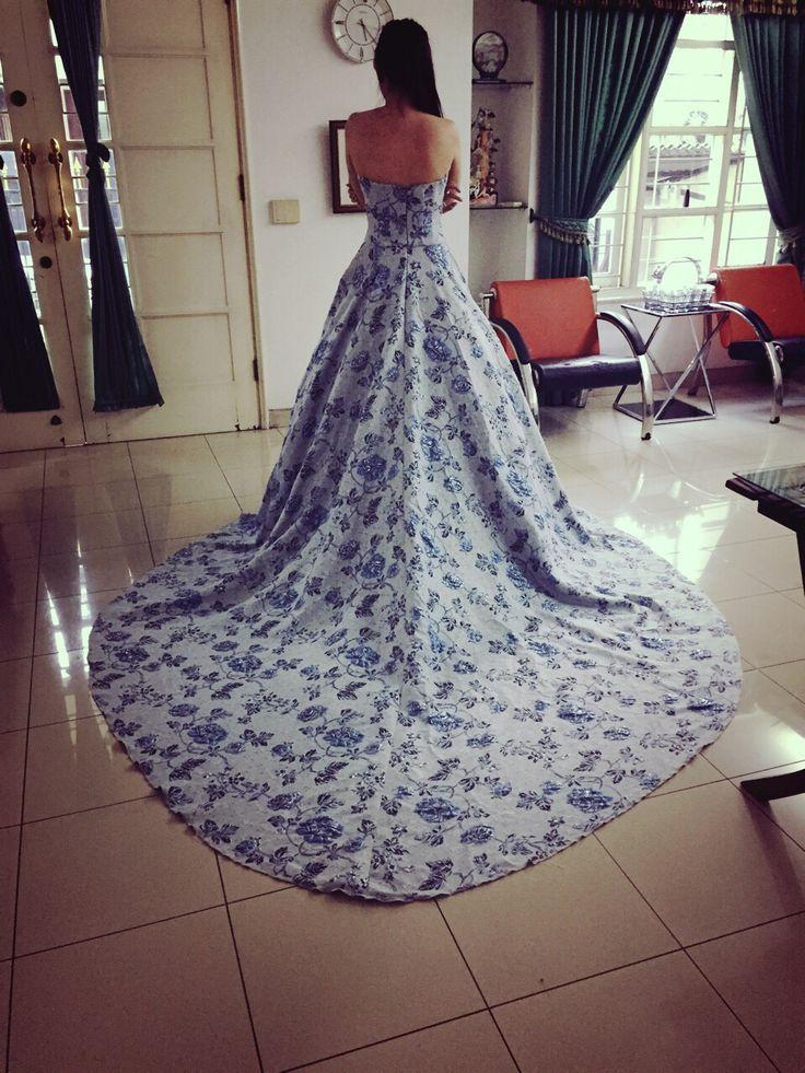 #weddingdress #prewedding #eveninggown #bridetobe #gaunpesta #gladicious #jakarta