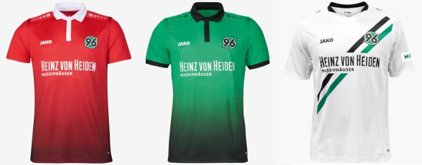 Maillot Hannover 96 2018 Pas Cher