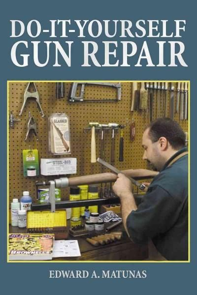 Diagnose and repair a broad selection of popular hunting firearms in the convenience of your home workshop and save money, too. Do-It-Yourself Gun Repai r is an authoritative guide to maintaining, rep