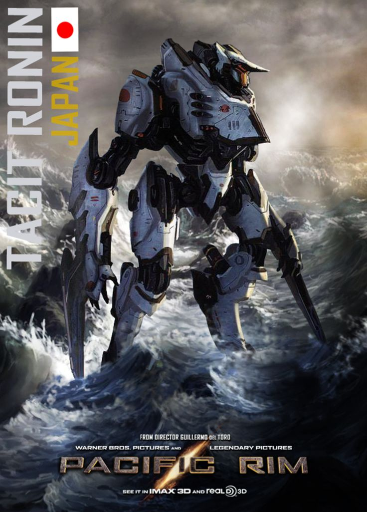 Pacific Rim - Tacit Ronin by minanfranco