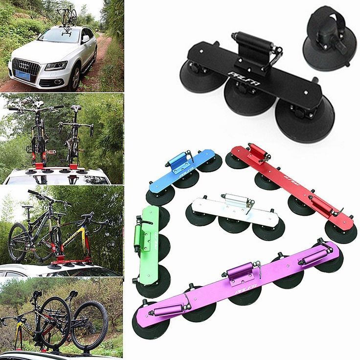 230.00$  Buy now - http://ali8zr.worldwells.pw/go.php?t=32763182121 - New products Suction Roof-Top Bike Racks Bike Accessories Bicycle Sustion Cup Roof Rack Cycle SUV Sucker Talon Car Racks