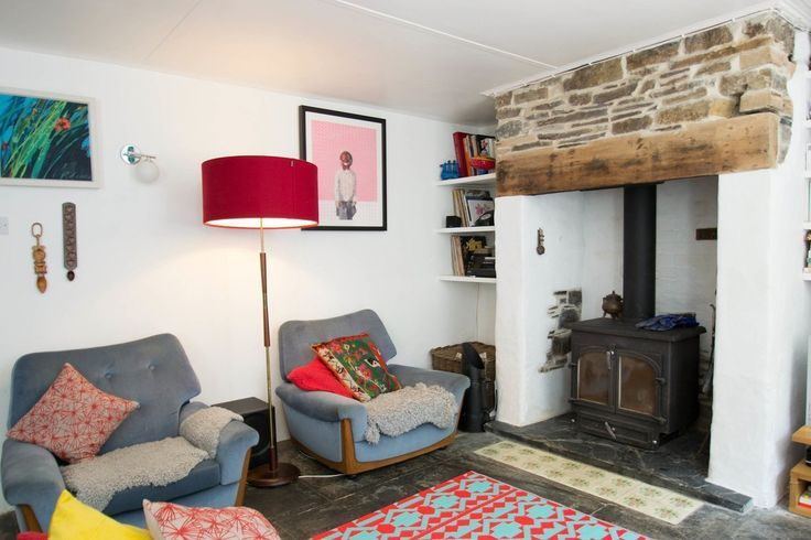Polly & Dai's Happy Cornwall Cottage Home