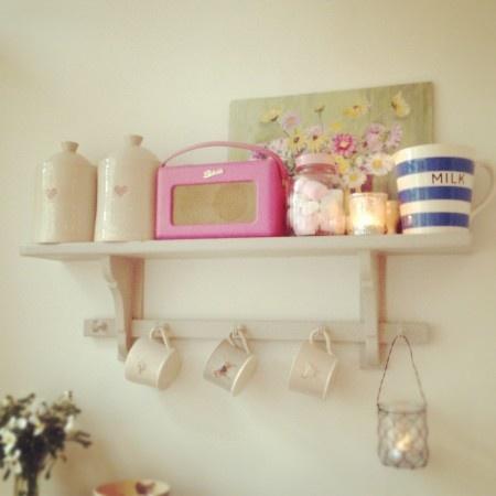 gorgeous shelf display
