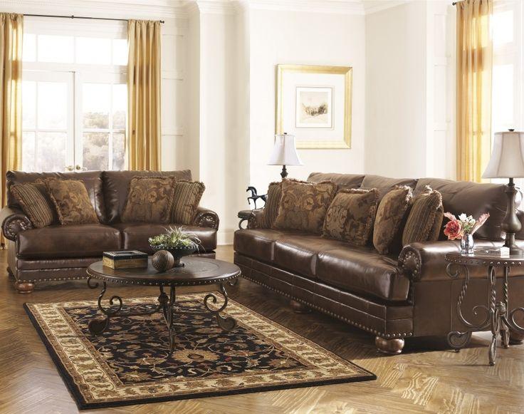 Ashley Leather Sofa Sets Part 96