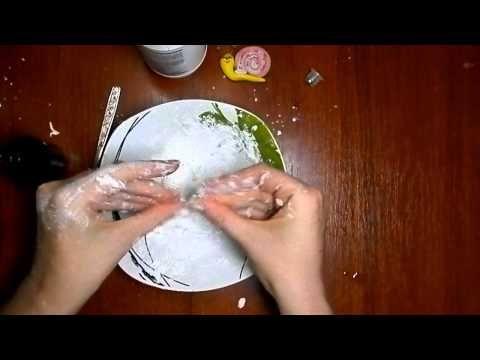 Как сделать холодный фарфор для лепки в домашних условиях. Самый простой способ - рецепт холодного фарфора без варки. А также пищевые красители для окраски ф...