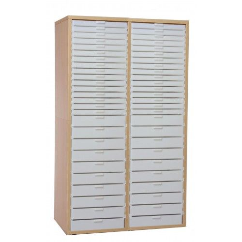 Bead storage cabinet, lots of drawers and inserts to hold ...