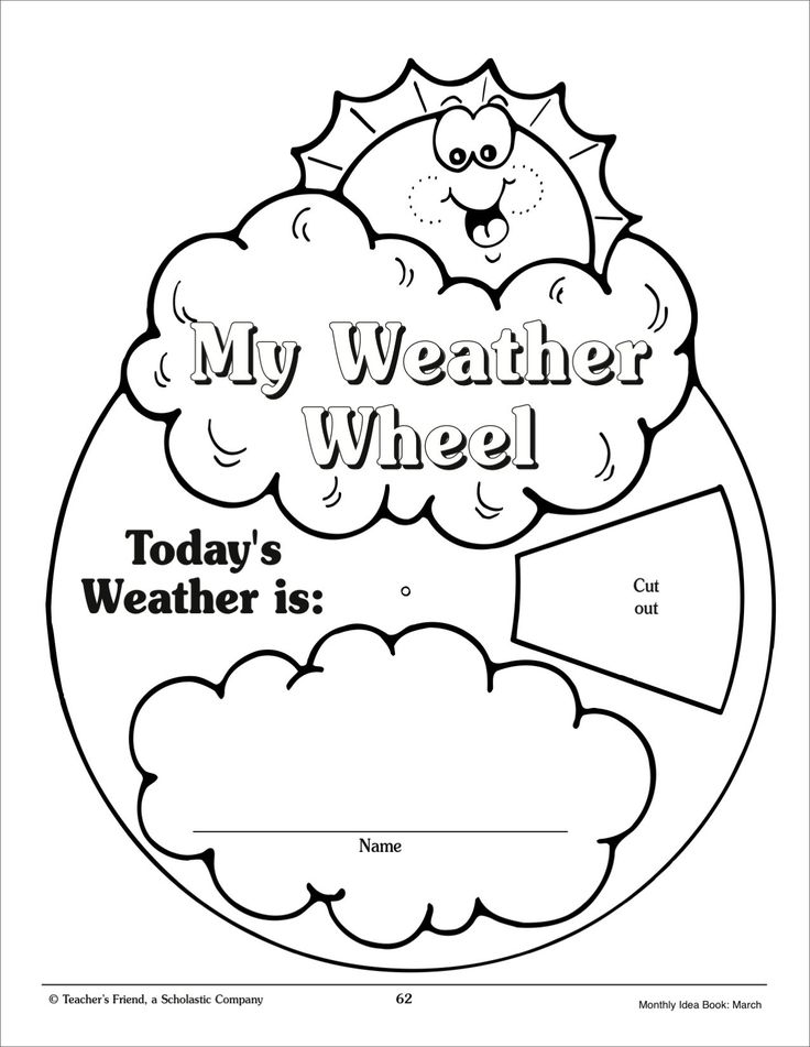 my weather wheel march monthly idea book printables weather unit pinterest shops. Black Bedroom Furniture Sets. Home Design Ideas