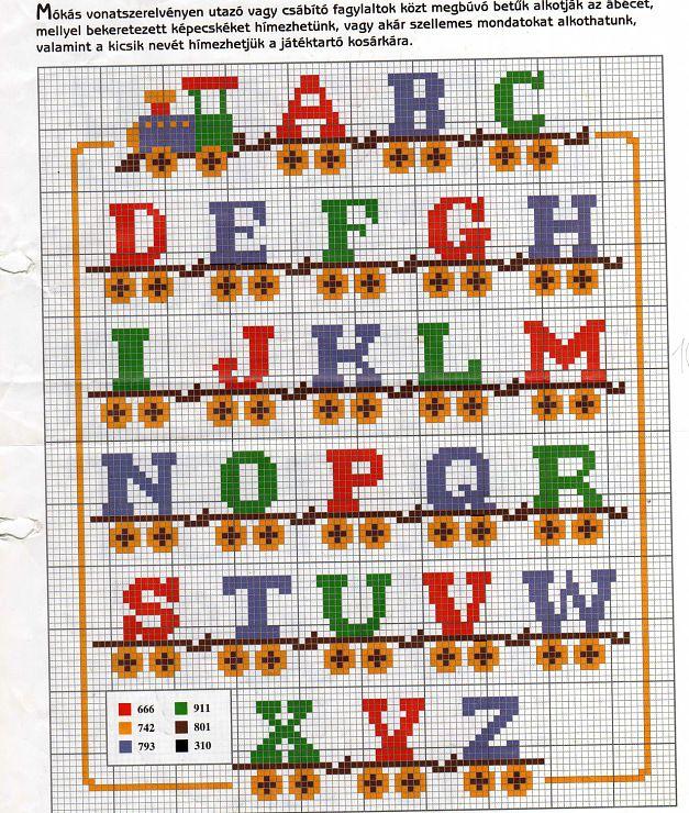 Gallery.ru / Фото #86 - Алфавиты, буквы, цифры 3 - rosa-nail