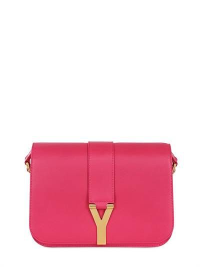 SAINT LAURENT - MEDIUM SATCHEL Y BRUSHED LEATHER BAG - SAINT LAURENT